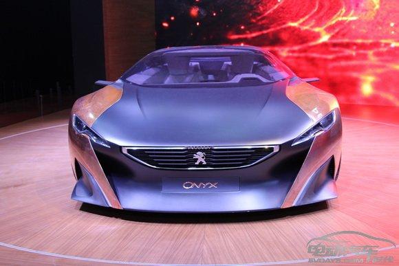 2013上海车展:标致概念跑车ONYX亚洲
