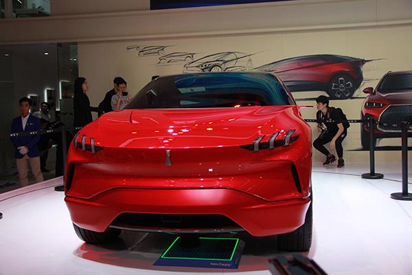 一箩筐新能源汽车首秀2017广州车展,明年买车就看他们的!