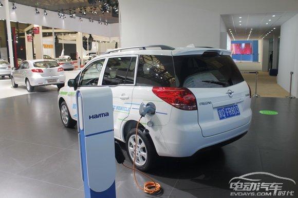 海马新普力马纯电动汽车 蒋城先摄高清图片