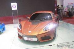 上海车展最快电动超跑:百公里加速仅3.7秒