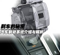 电动汽车制动系统装置解析