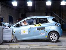雷诺纯电动车ZOE通过五星安全评级