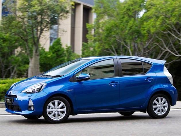 丰田Prius C国内申报图曝光 未来将引进中国