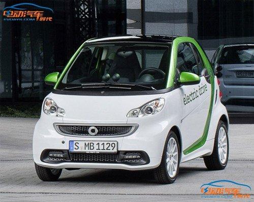 戴姆勒Smart ForTwo电动车