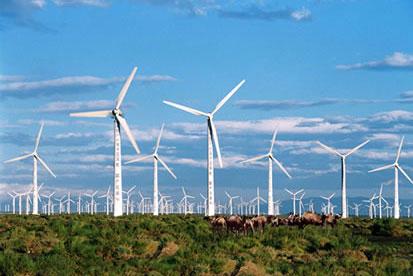 雾霾成因:风电场偷走了北京的风?