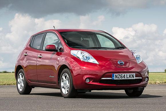 日产聆风登顶2014欧洲电动车销量榜