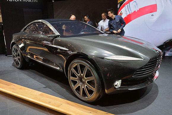 史上最豪华的纯电动汽车:阿斯顿R26;马丁DBX