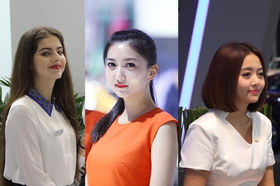 上海车展高颜值美女大搜罗 俏丽时尚吸睛指数爆表
