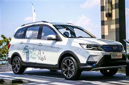 畅享诗与远方 七座纯电动SUV开瑞K60EV正式上市,补贴后10.63万起