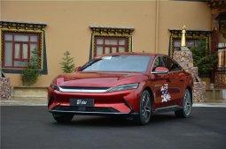 纯电动车性能、豪华新标杆,比亚迪汉滇藏线首试体验