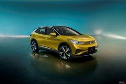 """中文名""""光荷4 X"""",上汽大众首款MEB中型纯电SUV ID.4 X亮相"""