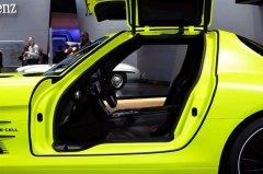 奔驰SLS级AMG E-cell-方向盘