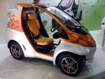丰田COMS EV右侧车身