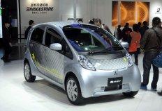 三菱i-MiEV纯电动汽车